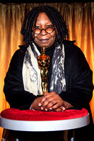 Whoopi Goldberg unveils Meet the Oscars- an exhibition of Oscar statuettes on display in Vanderbilt Hall in Grand Central Terminal