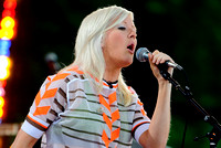 "Ellie Goulding performs on ABC's ""Good Morning America"""