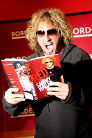 Sammy Hagar signs copies of his new book Red: My Uncensored Life in Rock