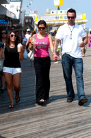 "MTV Reality Show ""Jersey Shore"" Filming 3rd season in Seaside Heights, NJ"